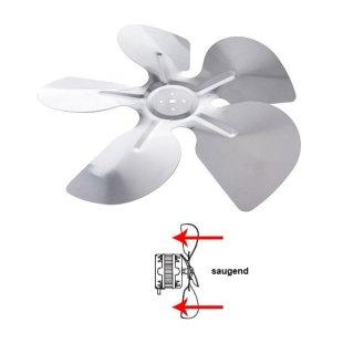Alu Lüfter, Propeller, Lüfterrad, Ventilator für ELCO Lüfter saugend - verschiedene Größen