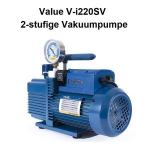 Vakuumpumpe VALUE V-i220SV 2-stufig 51 l/min