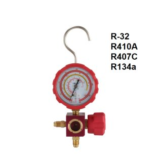 VALUE Singel Manometer VMG-1 R32 Hochdruck