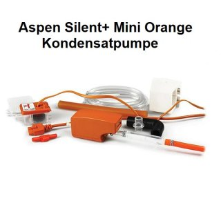 Aspen Kondensatpumpe Silent+ Mini Orange