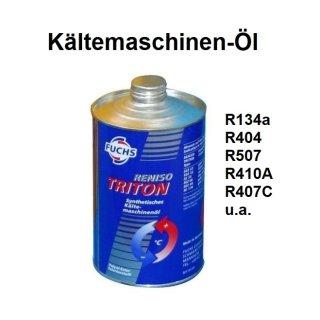 Kältemaschinen-Öl Reniso Triton SEZ 80 u.a für R134a, R407C, R410A