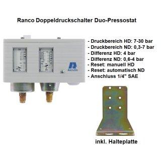 Ranco Doppeldruckschalter, Duo-Pressostat  017-H4759