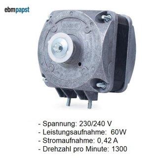 EBM PAPST Lüftermotor, Kondensator-Ventilatormotor 16 W M4Q045-CF01-01