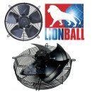 Lionball Axiallüfter mit Schutzgitter saugend 350 mm...