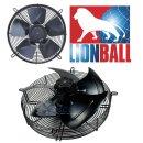 Lionball Axiallüfter mit Schutzgitter saugend 400 mm 230V