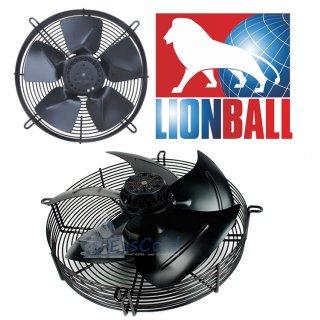 Lionball Axiallüfter mit Schutzgitter saugend 450 mm 230V