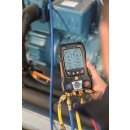 testo 557s Smart Vakuum Set - Smarte digitale Monteurhilfe mit kabellosen Vakuum- und Zangen-Temperaturfühlern